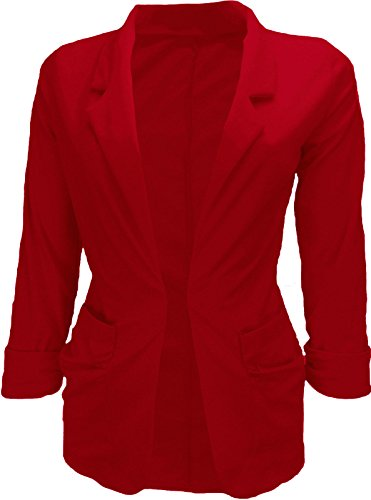 glamour-fashion-ladies-spring-fitted-blazer-with-turn-up-sleeves-red-10