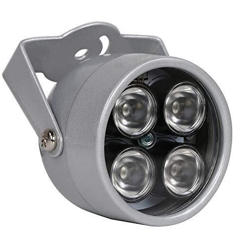 YMAO 4 LED Überwachungskamera Infrarot-Nachtsicht IR-Licht Beleuchtungslampe Scheinwerfer Scheinwerfer 90Grad für IP CCTV-CCD-Kamera für Außenbereich - 4 Ccd-ir-kameras