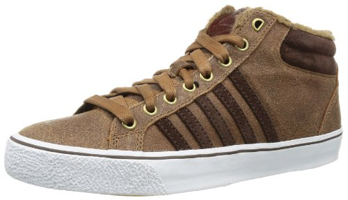 K-swiss Adcourt La Mid P Vnz, Sneaker Un Collo Alto Uomo Marrone (braun (cowboy / Espresso / Blanc))