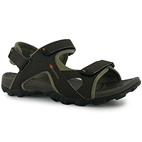 Antibes Sandals Mens [ Black/Charcoal , UK 9 ]