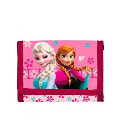 Disney Frozen Die Eiskönigin Geldbörse 14 cm Rosa Disney-frozen-geldbörse