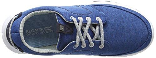 Regatta Lady Marine, Baskets Femme Bleu (Stellr/pwdbl)
