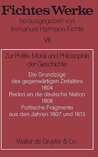 Werke, 11 Bde., Bd.7, Zur Politik, Moral und Philosophie der Geschichte.