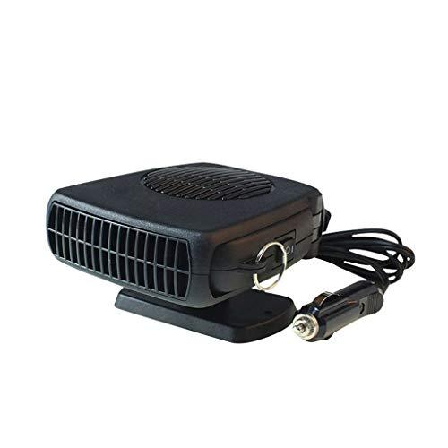Calefactores Calentador del Coche Manija eléctrica del Ventilador del vehículo de Viaje de 12 voltios Parabrisas Desempañador de Cristal de la Ventana Desempañador Enchufe Encendedor