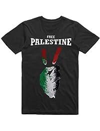 WGC Free Palestine Flag Free Gaza Fist Peace T-Shirt élégant de Haute  qualité avec bb6168aac94