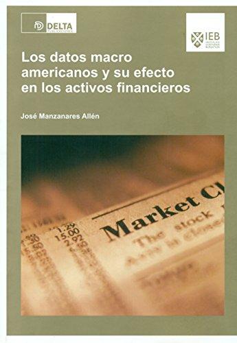 Los datos macro americanos y su efecto en los activos financieros por José Manzanares Allén
