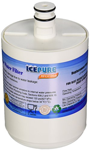 IcePure RFC0100A LG LT500P 5231JA2002A Water Filter Replacement by IcePure