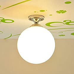 Kid de fútbol/baloncesto–Lámpara de techo de cristal de dormitorio habitación de los niños de fútbol creativo balcón pasillo techo alumbrado lámpara de techo sala de juegos