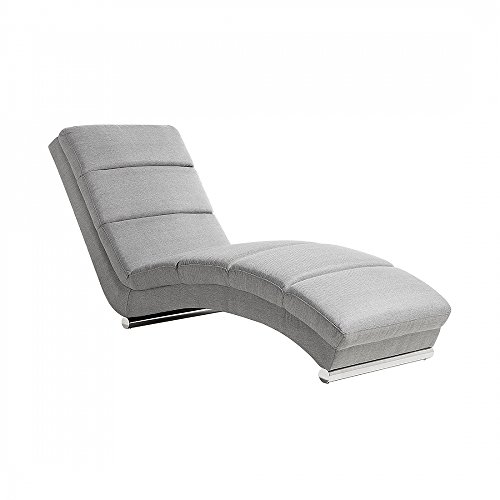 Sofa Hellgrau - Couch - Relaxsessel - Recamiere - Liegestuhl - Relaxliege - LUNULA