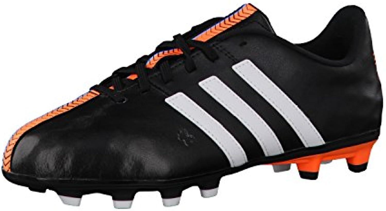 adidas Zapatillas de Fútbol 11 Nova FG, adidas 11Nova FG, negro/blanco, 40 EU