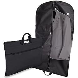 """ARGIOX Anzugtasche/Anzugsack""""TRAVELLER"""" Mit Staufächern - Kleiderhülle Inklusive Ebook - 17"""" Laptopfach - Knitterfreier Transport - Anzugsack Als Handgepäck"""