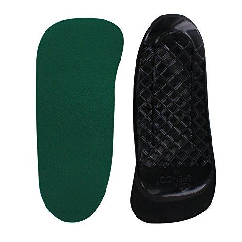 Spenco Unisex-Erwachsene RX 3/4 Orthotic Arch Support Einlegesohlen Grün (Green) 4 UK