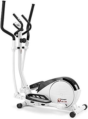 Schmidt Sportsworld Elite 130CT 950292 - Bici elíptica - 8Kg sistema inercial - Easy Access - Blanca