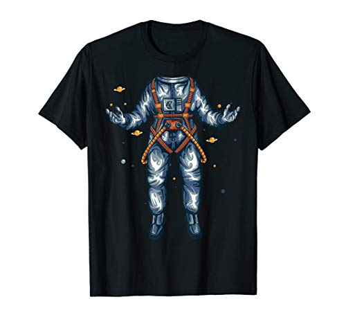 Lustiges Astronaut Halloween Kostüm Cool Spaceman T-Shirt