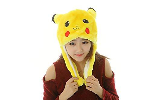 2 Stück-42 Arten Tiere Unisex Plüsch Tier Hats Kostüm Abzugshaube Spielzeug Leistungsstützen (Elefanten Kostüm Für 8 Jährige)