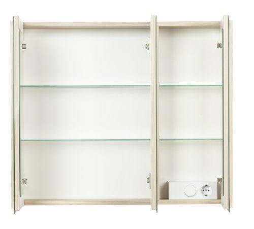 FACKELMANN Spiegelschrank, Holz, Pinie, 16 x 79,5 x 67 cm - 3