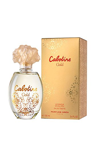 Gres de Paris Cabotine Gold, Femme/Woman, eau de toilette, 100 ml