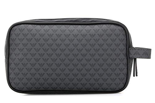 Emporio Armani beauty case uomo navy/black