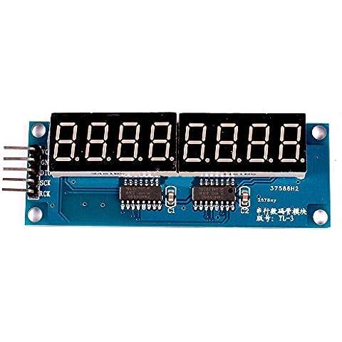 Solu 74HC595 8Bit 8-Digit Display LED digitale 0,91 cm (0,36