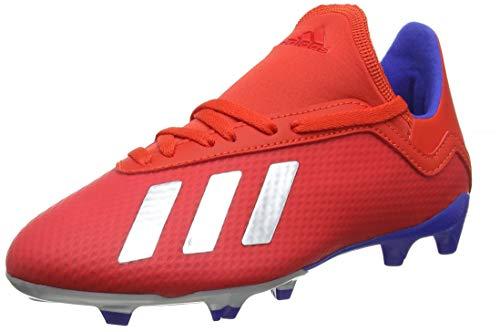adidas Unisex-Kinder X 18.3 FG J Fußballschuhe, Mehrfarbig (Multicolor 000), 34 EU