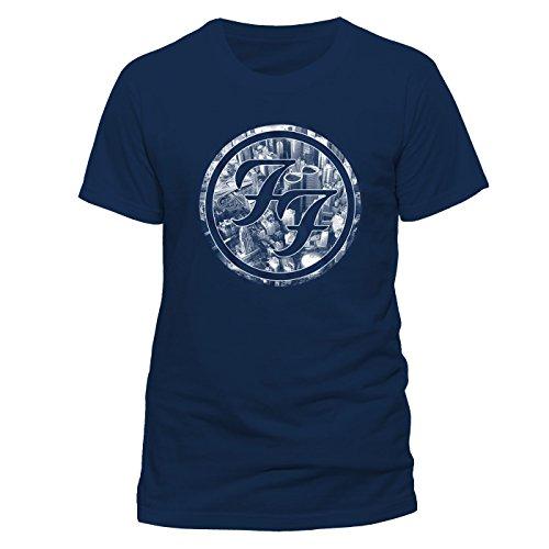 T-shirt (x) foo fighters - city logo (unisex) new release november