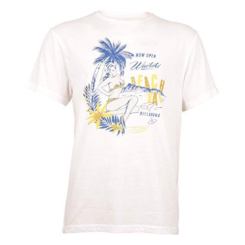 Billabong Herren T-Shirt Weiß - weiß