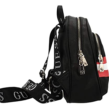 41tYyqobXvL. SS416  - Mochilas Mujer, Color Negro, Marca GUESS, Modelo Mochilas Mujer GUESS HWAB73 03320 Negro