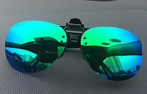 Myopie Brille polarisierte Linsen Sonnenbrille Nachtsicht Sonnenbrille Clips Männer und Frauen Modelle Fahren Angeln Treiber Clips Typ Neue schwarz grau polarisierte Clips, Neue grün quecksilber Pola