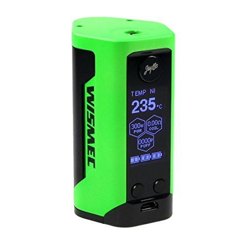 Riccardo Reuleaux RX GEN3 Box MOD 300 Watt, Wismec e-Zigarette / Akkuträger, neongrün