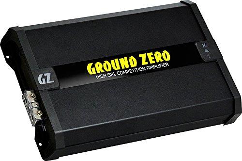 Ground Zero Gzca 8.0 K-spl – Classe D | 8960 Watt RMS | Mono amplificateur Large Gamme