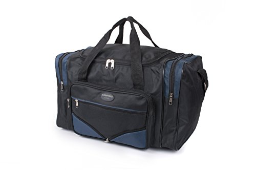 Compass Cabas Black and Navy Holdall