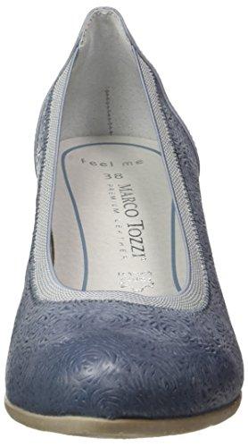 Marco Tozzi Premio 22316, Escarpins Femme Bleu (Denim Antic 812)