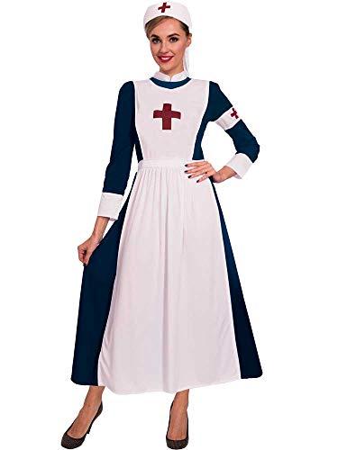 Florence Nightingale Kostüm - amscan Erwachsenen-Kostüm, Krankenschwester