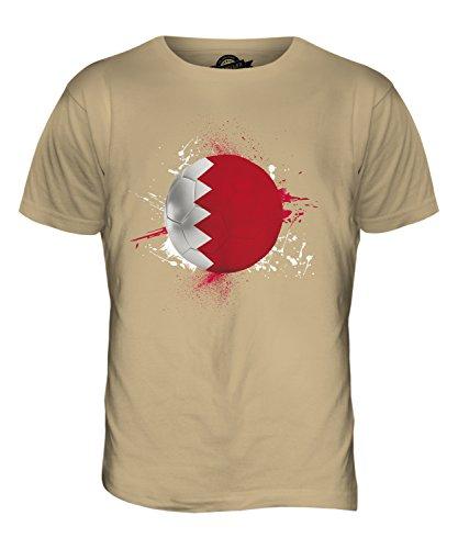 CandyMix Bahrain Calcio T-Shirt da Uomo Maglietta Caramello