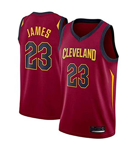 Basketball Shorts T-Shirt Trikot NBA 23# Knight Lebron James All-Star Trikot, Cooles Atmungsaktives Gewebe Klassisch Ärmellos, Herren Und Unisex,XL:185cm/85~95kg -
