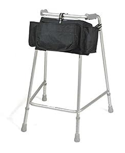 Simplantex Black Wraparound Walker Bag for Zimmer Frame or Similar