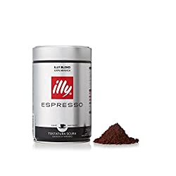 Illy Dark Roast Ground Coffee 250g (Pack Of 12)