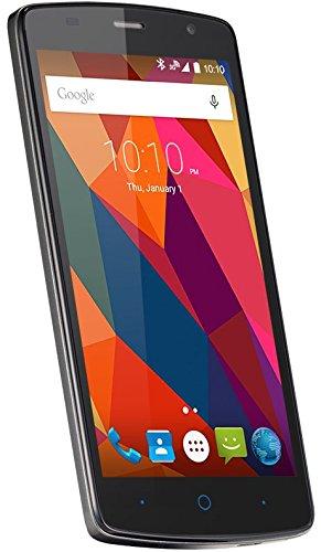 ZTE Blade L5 Plus Smartphone (12,7 cm (5 Zoll) Display, 8 Megapixel Kamera, 8 GB Speicher) Grau