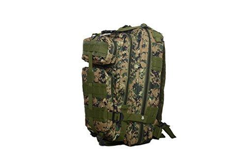 Sport Outdoor Military Rucksack Tactical 3D Rucksack Camping Wandern Trekking Tasche Custom Design 40L Jungle Digital Color
