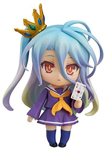 Close Up Figura de Acción No Game No Life 653 - Nendoroid Shiro (0cm x 10cm)