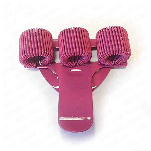 In metallo, con Portapenne triplo con Clip da tasca, ideale per dottori, infermieri e piloti, 1 unità, colore: rosa