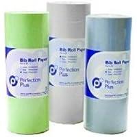 Perfection Plus MAT969 - Rollo de papel para babero, color blanco