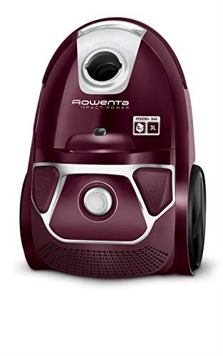 Rowenta Compact Power Morado RO3969EA - Aspirador trineo con bolsa de alta filtración y filtro permanente...