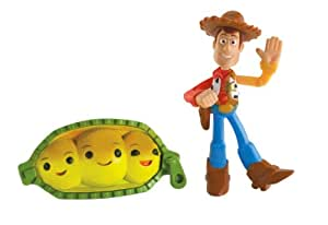 Toy Story Colour Splash Buddies 2 Pack - Waving Woody and Peas-in-a-Pod