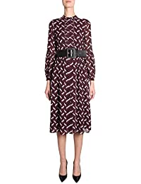2a2cf8889b Michael Kors Michael Women's MH88Y9FAFZ596 Burgundy Polyester Dress