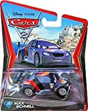 All your favorite characters from the Disney Pixar film, Disney Pixar Cars 2 Die-Cast Vehicle - Max Schnell, 1:55th scale. With authentic styling and details, these die cast characters are perfect for recreating all the great scenes from the movie. C...