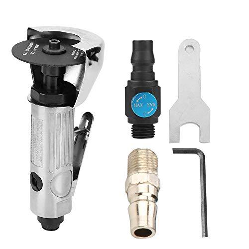 Air Cut-Off Tool 7,6 cm pneumatisches Metallschneiden verstellbar rund High Speed Air Cutter Tool Schleifpad Pneumatische Metallschneider Schere -