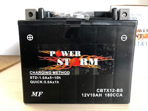 Batterie Tecnium Quad Kymco 300 Maxxer 2006-2016 YTX12-BS 12V 10Ah Neuf