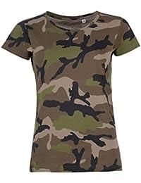 SOLS - T-shirt à motif camouflage - Femme