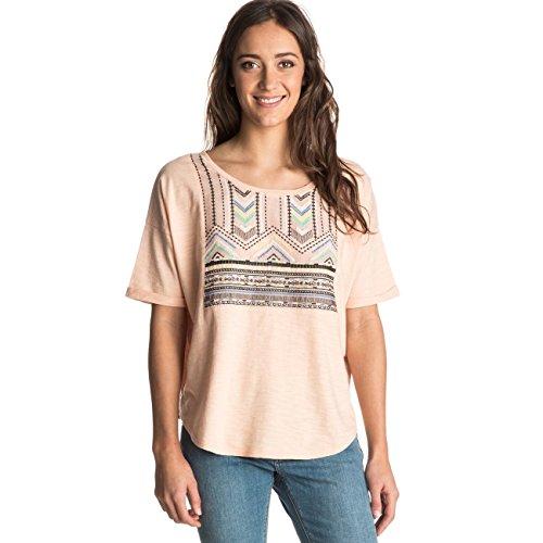 Roxy Big Sur Dream - T-shirt pour femme ERJKT03177 Rose - Peach Parfait